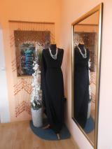 kostýmovka splývavá,elastická,černá-Efes