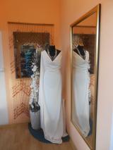 kostýmovka splývavá,elastická,smetanová-Efes