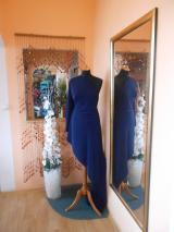 kostýmovka splývavá,elastická,tmavě modrá-Efes