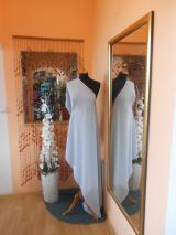 kostýmovka splývavá,elastická,sv.šedá-Efes