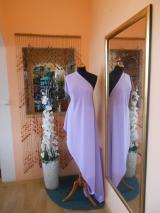 kostýmovka splývavá,elastická,lila-Efes
