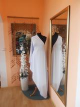 kostýmovka splývavá,elastická,bílá-Efes