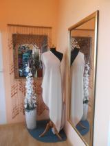 kostýmovka splývavá,elastická,béžová-Efes