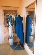kostýmovka splývavá,elastická,smaragdově zelená-Efes