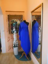 kostýmovka splývavá,elastická,král.modrá-Efes