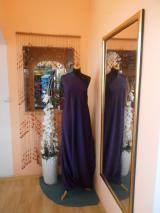 satén matný-fialová